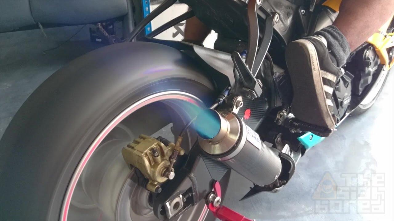 Kawasaki Ninja Zx 6r Translogic Quick Shifter Youtube