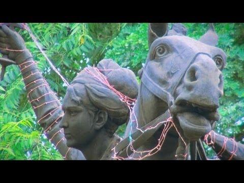 Chattri of Jhansi ki Rani Laxmi bai, Freedom fighter, Gwalior, Madhya Pradesh