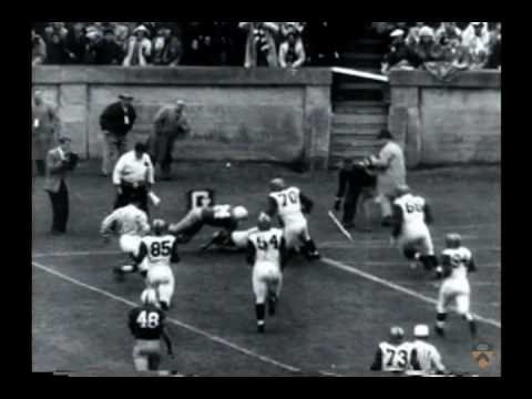 Princeton football matches, 1947-1956 (newsreels)