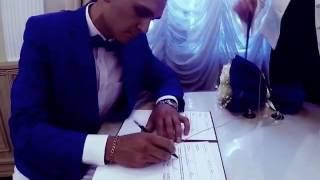 Ситцевая свадьба. Год женаты. Спасибо любимой за видео сюрприз.Обожаю:*