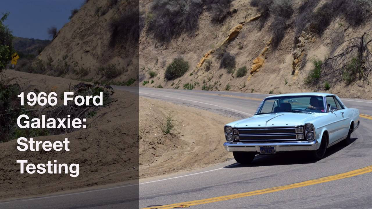 small resolution of 1966 ford galaxie street testing hotchkis sport suspension