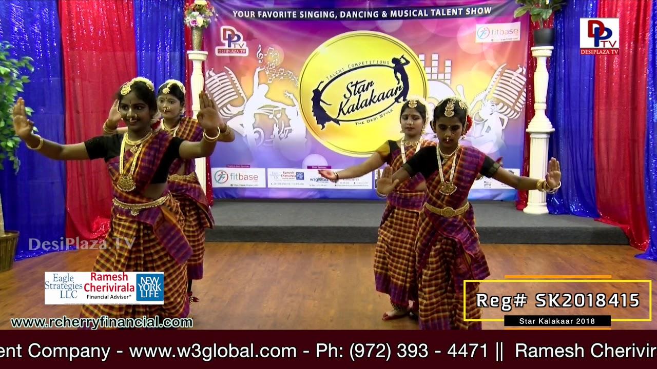 Participant Reg# SK2018-415 Performance - 1st Round - US Star Kalakaar 2018 || DesiplazaTV