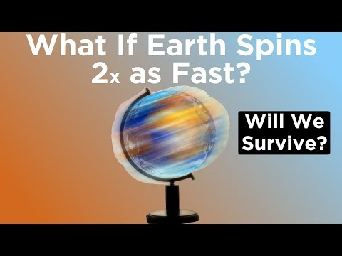 What If Earth Started Spinning Twice as Fast Right Now?
