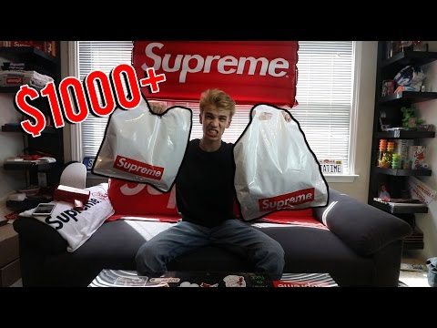 MY $1000+ SUPREME OUTFIT FOR RETAIL!