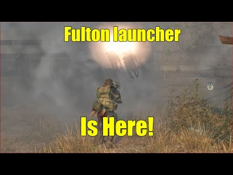 MGSV- Fulton Launcher Review!