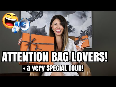 ATTENTION BAG LOVERS! MOYNAT Bag Unboxing + a very SPECIAL TOUR *must-see*
