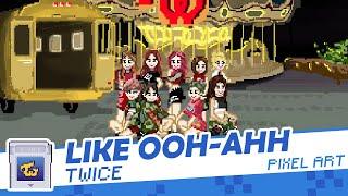 Fanart#15: PIXEL ART Ver. Twice(트와이스) - Ohh Ahh