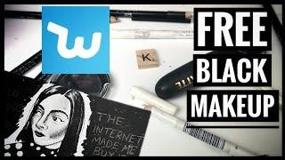 I Drew SAFIYA NYGAARD with FREE BLACK MAKEUP from WISH!!