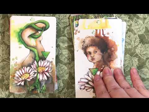 Lili White Tarot Unboxing and First Impressions
