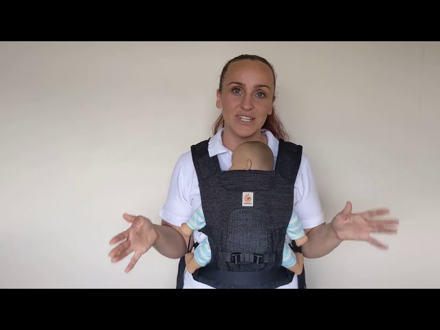 Ergobaby Aerloom Video Review and How To