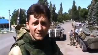 Видеодоказательство участия русских в войне в Украине. Степановка 16 07 14  Украина Россия
