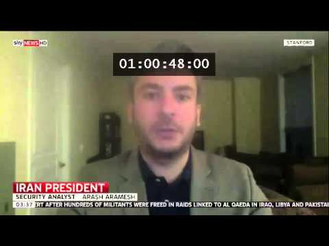 Arash Aramesh Discussing US Policy on Iran Post 2013 Election (Sky News)