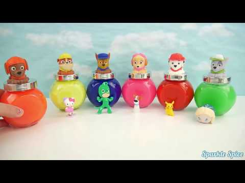 Thumbnail: Learn Colors Pop Up Toy Play Doh Smiley Face Peppa Pig Lollipop Candy Molds Creative Fun for Kids