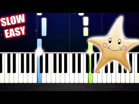 Twinkle Twinkle Little Star - SLOW EASY Piano Tutorial By PlutaX