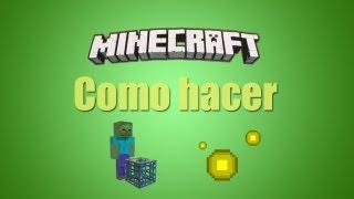 ★ Minecraft Tutorial - Fabrica de experiencia rapida - Sube de nivel en un santiamén - By supahh