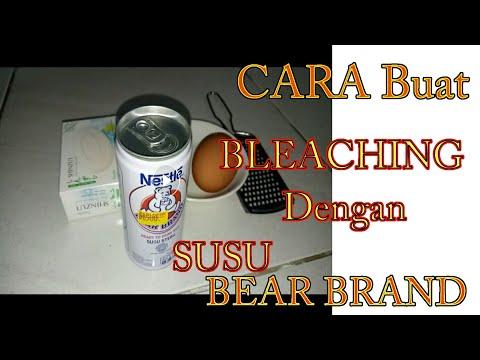 Cara Membuat Bleaching sendiri dengan Susu Bear Brand