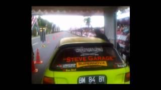 "STEVE GARAGE ""BABY"" B20 vtec all motor @ sidimacho drag race pekanbaru"