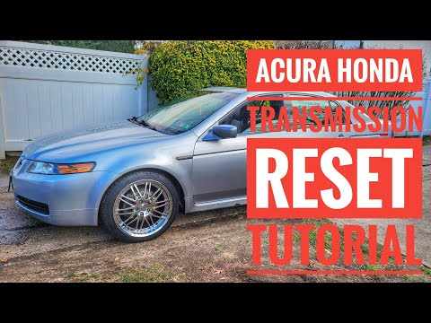 HOW TO RESET ACURA HONDA ECU TRANSMISSION FACTORY TUTORIAL - YouTube