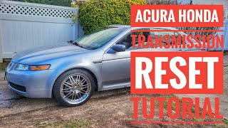 HOW TO RESET ACURA HONDA ECU TRANSMISSION FACTORY TUTORIAL