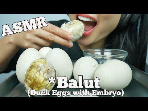 ASMR Balut *Duck Embryo (EXOTIC DELICACY FOOD EATING SOUNDS) | SAS-ASMR
