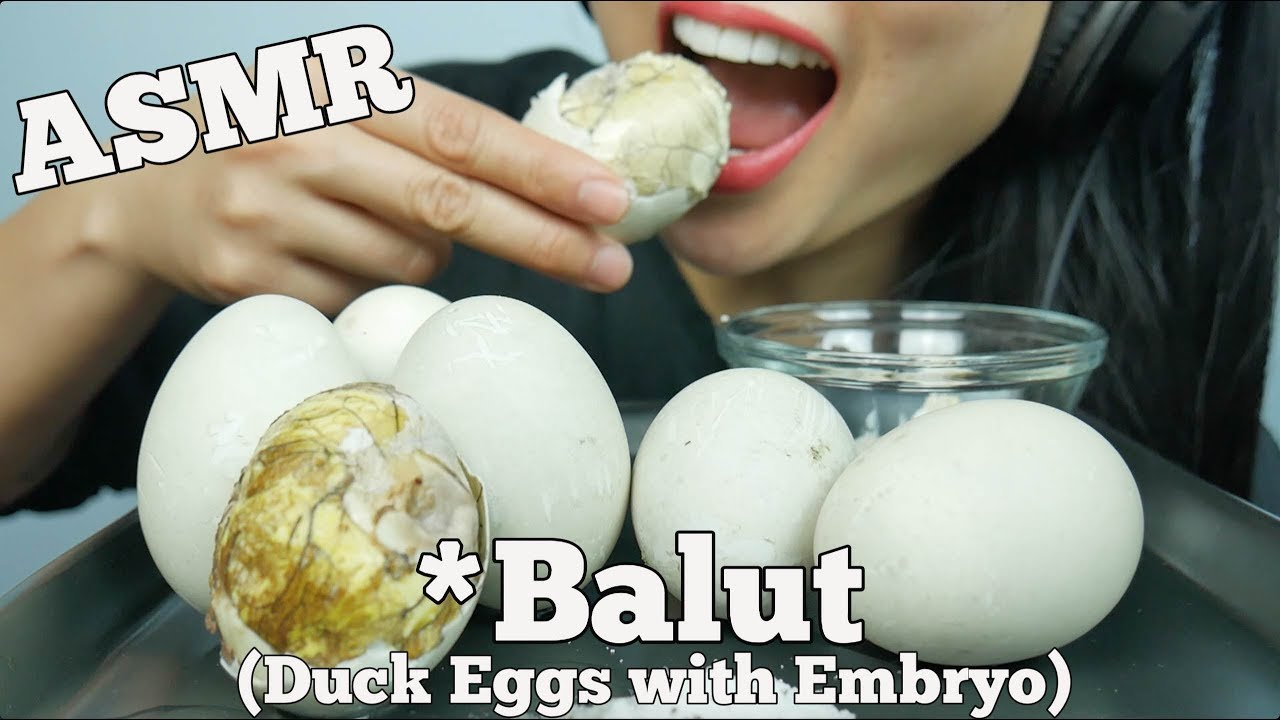 Asmr Balut Duck Embryo Exotic Delicacy Food Eating Sounds Sas Asmr Youtube ***this is an asmr video. asmr balut duck embryo exotic delicacy food eating sounds sas asmr