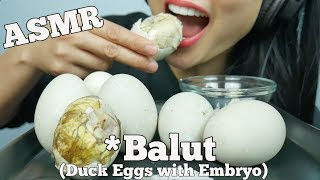 ASMR Balut *Duck Embryo (EXOTIC DELICACY FOOD EATING SOUNDS) | SAS-ASMR