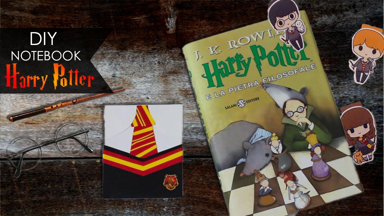 Diy Notebook ϟ Harry Potter Segnalibro Bookmark Youtube