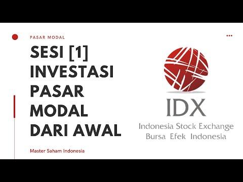 [SESI 1] Seminar Investasi Saham di Pasar Modal :: Panduan Dasar & Hakikat Investasi Saham !!