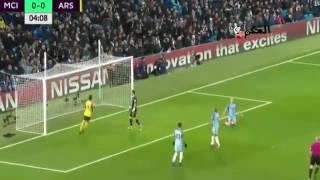 أهداف مباراة مانشستر سيتي ضد آرسنال يوم  (18/12/2016)