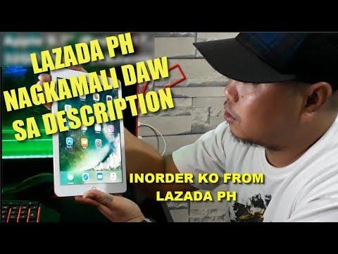 Ipad 2017 9.7 Gold 32gb.Pinoy Unboxing Galing Sa Lazada