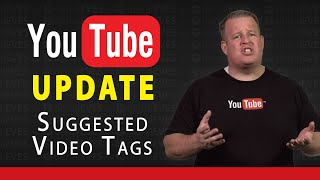 YouTube Update: Suggested Tags