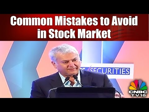 Common Mistakes to Avoid in Stock Market | Prakash Diwan Trading Tips | CNBC TV18