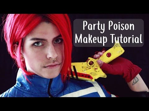 Party Poison Makeup Tutorial | My Chemical Romance