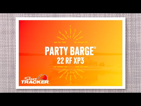 Sun Tracker Party Barge 22 RF XP3 video