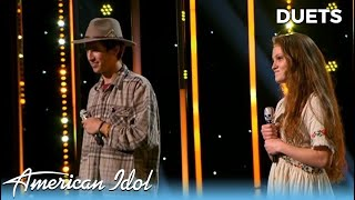 Cassandra Coleman & Wyatt Pike WOW The Judges in The Duet Challenge!