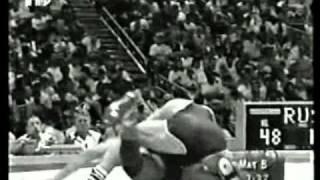 48 кг. За бронзу. Зафар Гулиев (Атланта 1996)