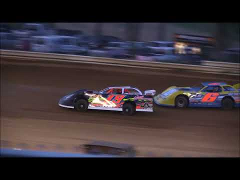 Steel Block Late Model Heat #2 from Jackson County Speedway, May 11th, 2018.