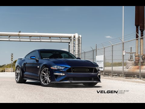 PROCHARGED FORD MUSTANG GT | VELGEN WHEELS X DDR CONCEPTS