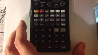 Unboxing - Casio fx-5800p