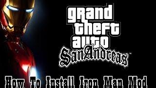 How To Install IRON MAN Mod In Gta San Andreas HINDI