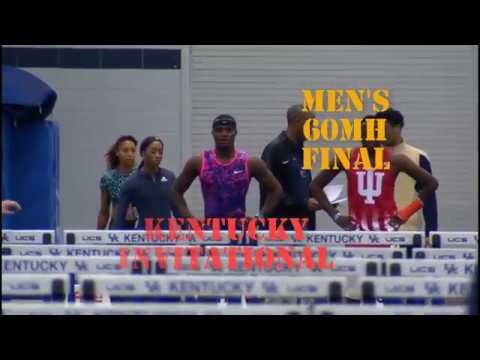Omar McLeod 7.53 WL Mens 60m Hurdles Kentucky Invitational 2018