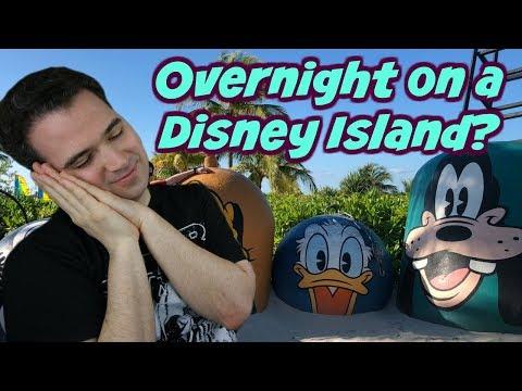 Overnight on a Disney Private Island? 😴