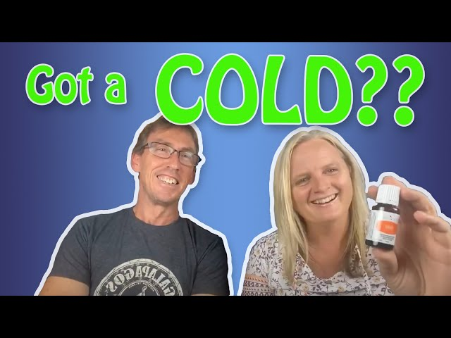 Can essential oils REALLY help with a common cold or cough?
