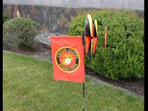 U.S. Marine Corps Dual Spinner Wheels - In the Breeze - YouTube