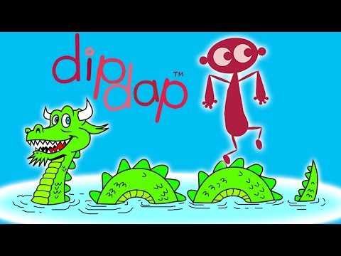 Animation for Kids | Dipdap - Sea Monster | Funny Cartoons for Kids | Cartoon Movie | HD