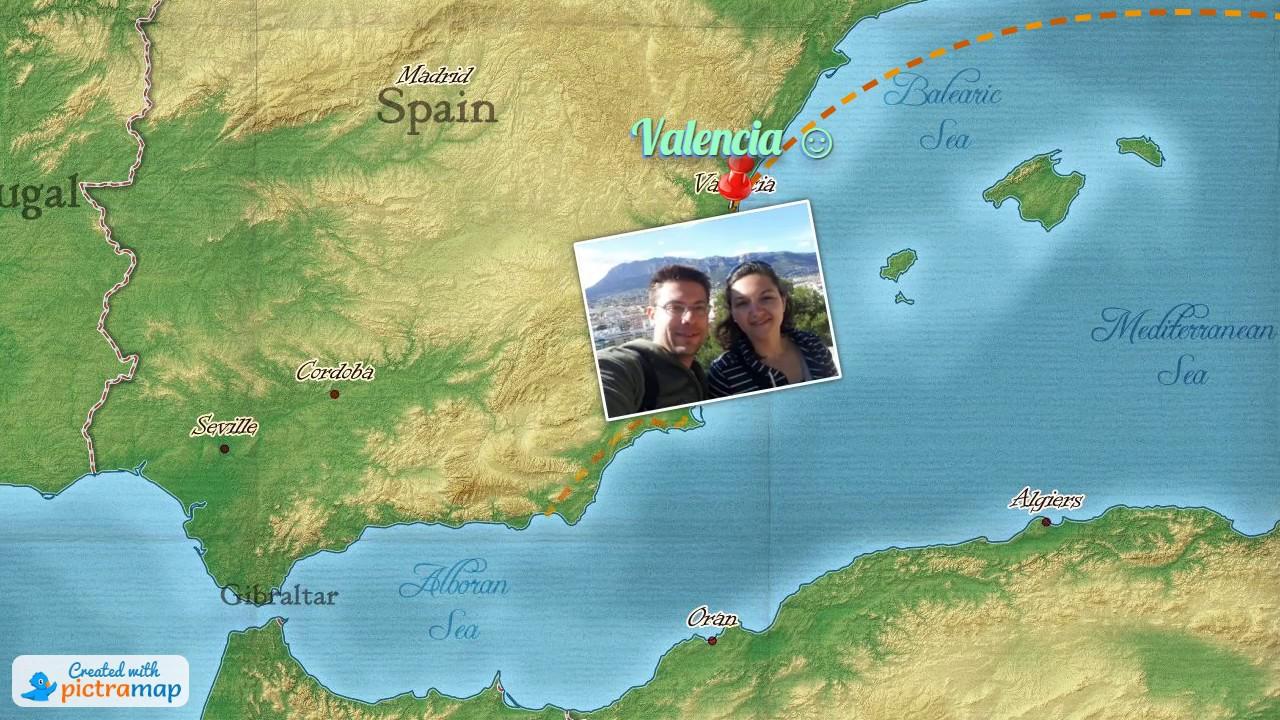 Spanish adventure pictramap travel animation turned into video spanish adventure pictramap travel animation turned into video gumiabroncs Choice Image