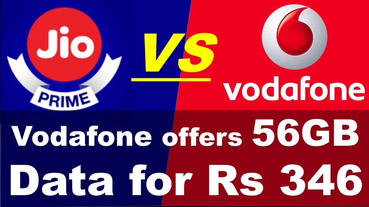 Image result for वोडाफोन 346 रुपये में 56 GB डेटा!