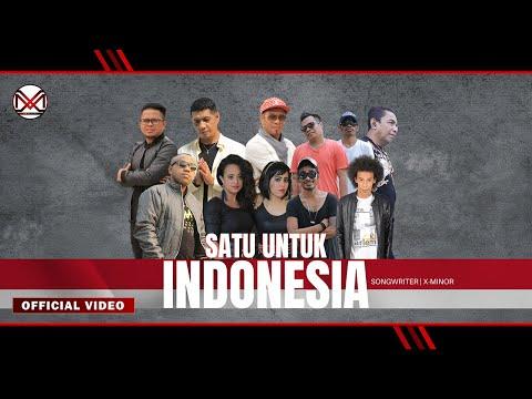 #1Jokowilagi  JOKOWI SATU UNTUK INDONESIA   X-Minor Feat Artis Maluku (Official Video Clip)