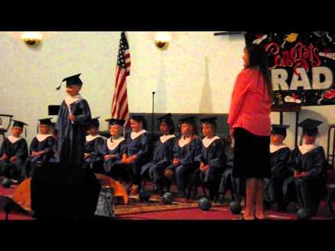Little Explorers Montessori School VPK Graduation 2015