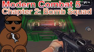 Modern Combat 5: Chapter 2 - Spec Ops: 03.Bomb Squad (3 Stars Walkthrough)